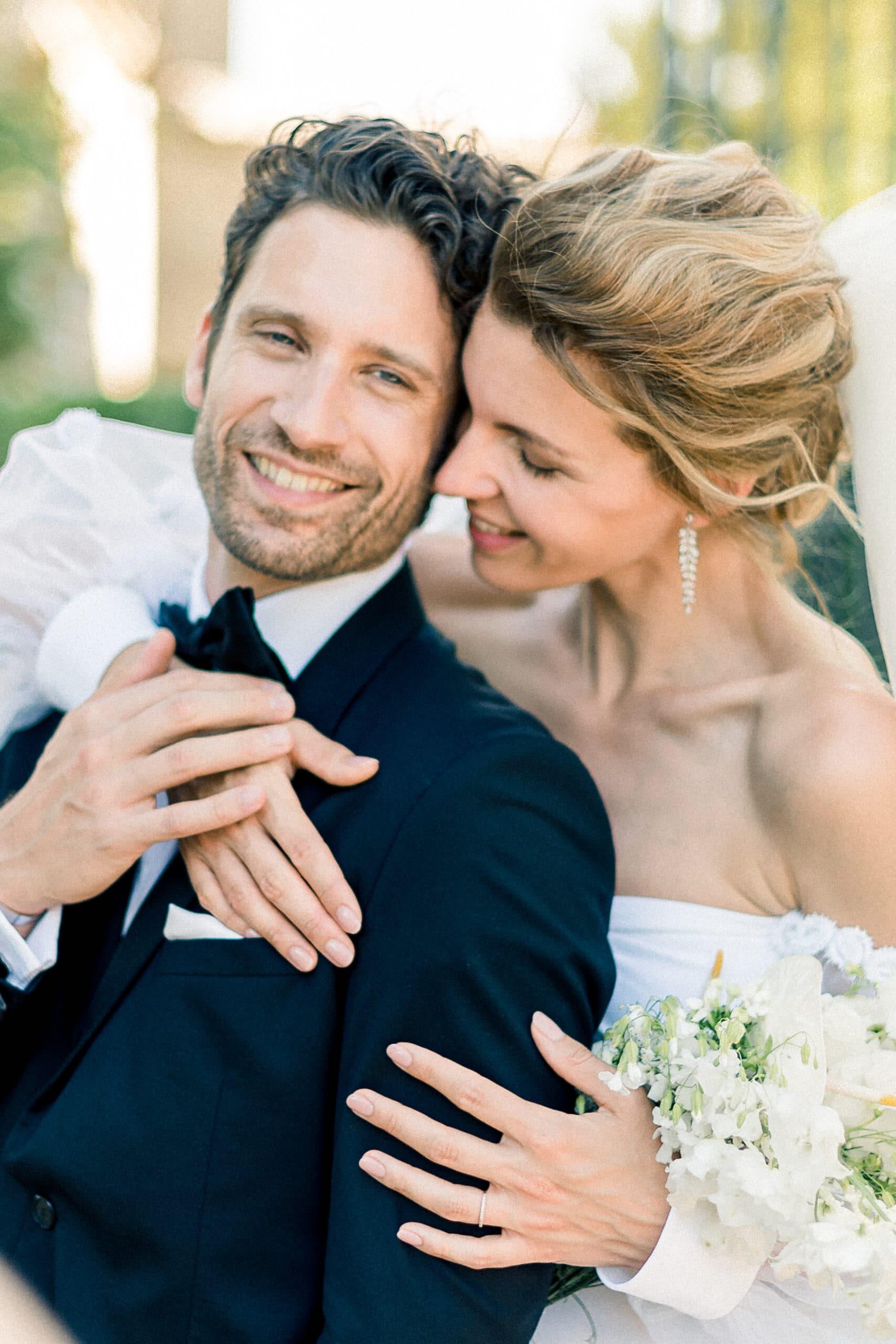 portrait photo des mariés - photographe mariage alsace