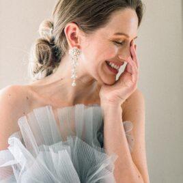 portrait de la mariée - photographe mariage alsace